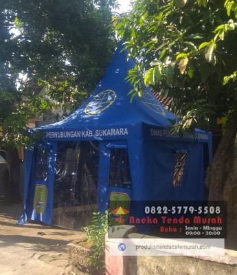 Harga Tenda Cafe Kerucut Surabaya